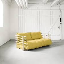 matelas futon canapé canapé banquette futon structure naturelle matelas futon funk sofa