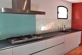 faience en verre pour cuisine credence a coller sur carrelage maison design bahbe com