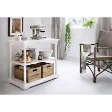 desserte cuisine blanche table desserte cuisine blanche bois massif meubles blancs