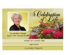 Beautiful Funeral Programs Beautiful Funeral Programs Diy Rosy 4 Page Graduated Step Fold