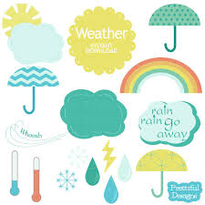 weather clip art for kids printable clipart library free