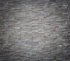 Stone Wall Texture Pattern Black Granite Stone Wall Texture And Background Stock
