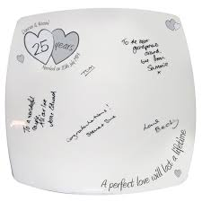 25th wedding anniversary plates 14 best personalised wedding day ideas images on