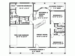1500 Square Foot Ranch House Plans Excellent Cottage Floor Plans 1500 Sq Ft 5 Ranch Style House Plan