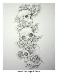 skull tattoos sleeves ideas 2