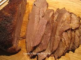 lynda u0027s recipe box texas oven roasted brisket from paula deen