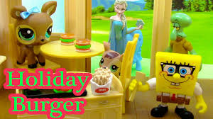 spongebob halloween background fast food christmas holiday burger spongebob squidward littlest