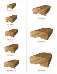 Wood Stair Banisters Stair Handrail Profiles Wood Stair Railings Profile Index