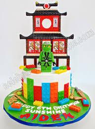ninjago cake celebrate with cake ninjago temple