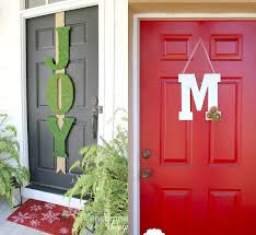 Monogram Letters Home Decor by Home Front Door Décor Different Ideas To Create Sizzling Effects