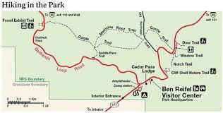 badlands national park map hiking badlands national park u s national park service