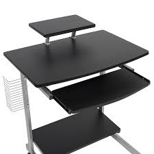 Laptop Desk Cart by Amazon Com Best Choice Products Computer Desk Cart Pc Laptop