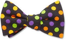 halloween polka bow ties beau ties ltd of vermont