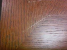 Fix Scratches In Wood Furniture by Use A Cashew Almond Walnut To Fix Scratches On Wood I Rubbed