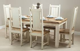 shabby chic dining table set home interior inspiration