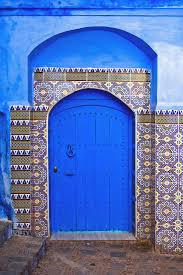 Morocco Blue City by Chefchouen