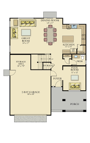 countess new home plan in chateau carriage house by lennar
