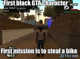 Meme Gta - gtasa found this meme from my sa mp days intended racism by rock