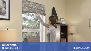 Cordless Window Shades Cordless Lift For Roman Shades Quickdemo U0026raquo
