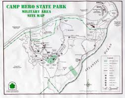 Hunting Island State Park Map by Secret History Of Camp Hero Montauk Monsters Human Experiments