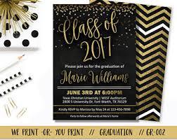 graduation invite graduation invite etsy