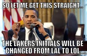 Lakers Meme - lakers are lol meme