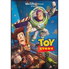 amazon toy story disney pixar movie poster print buzz