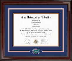 frames for diplomas of florida diploma frames church hill classics