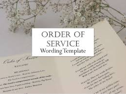 order of ceremony for wedding program wedding order of service what to include in your wedding program