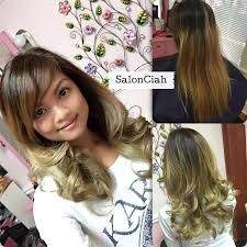 ash blonde hair ombre colormelt red salonciah tampa