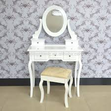 decorative european country style dressing table with mirrors