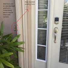 Exterior Door Bells Exterior Door Bell Cover Allfind Us