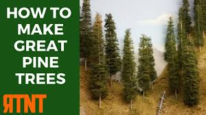how to make model pine trees that look great and realistic