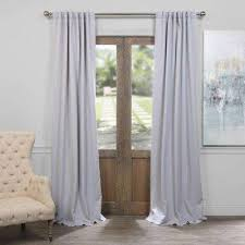 gray curtains u0026 drapes window treatments the home depot