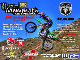 2013 ama motocross schedule motoxaddicts boise idaho mammoth qualifier 5 4 13
