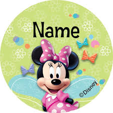 Minnie Mouse Easter Stickers Minnie Mouse Personalized Mini Stickers Supplies Decorations