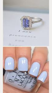 gorgeous engagement rings 8 gorgeous engagement ring nail color combos mon cheri bridals