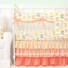 Pink And Yellow Bedding Crib Bedding Sets For Girls Rosenberry Rooms