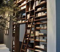 Family Room Cool Bookcases Ideas Leaning Ladder Shelf White Walmart Narrow Bookshelf Inspiring