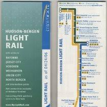 hudson light rail schedule hudson bergen light rail