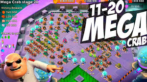backgrounds mlg clash of clans mega crab stages 11 20 chaos boom beach strategy new intro