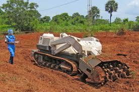 irin demining machine clears path for a better future