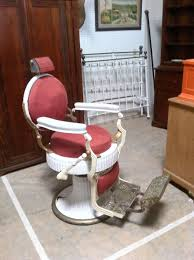 Vintage Barber Chairs For Sale Custom Made 1920 U0027s Koken Double Round Barber Chair By Custom