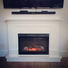 ana white electric fireplace surround and mantel diy projects