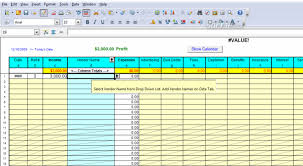 Year To Date Profit And Loss Statement Free Template by Profit Loss Report Spreadsheet 6 0