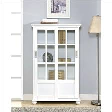 Ikea Bookcase With Glass Doors Ikea Bookshelf Doors Thespokesman Me