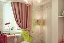 Pink And Lime Green Bedroom - curtains beautiful pink green white curtains dramatic green