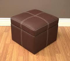 black leather storage ottoman with tray interior leather ottoman storage faedaworks com