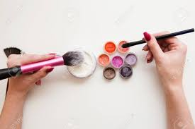 makeup artist tools makeup artist set brushes powder pigments and womans