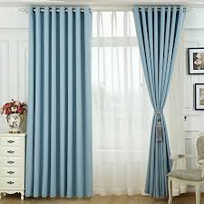 navy blue curtains and drapes grommet turquoise blackout curtain